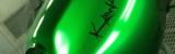 Kawaski Tank Candygreen Effektlackierung Klavierlackeffekt