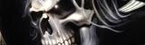 Skulls Schädel Totenkopf Airbrush von Daniel Schubert Nassklarlack