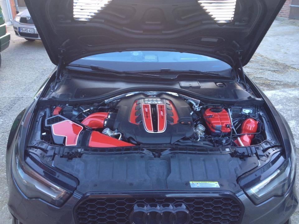 HGP Turbo Lackierung Motorraum