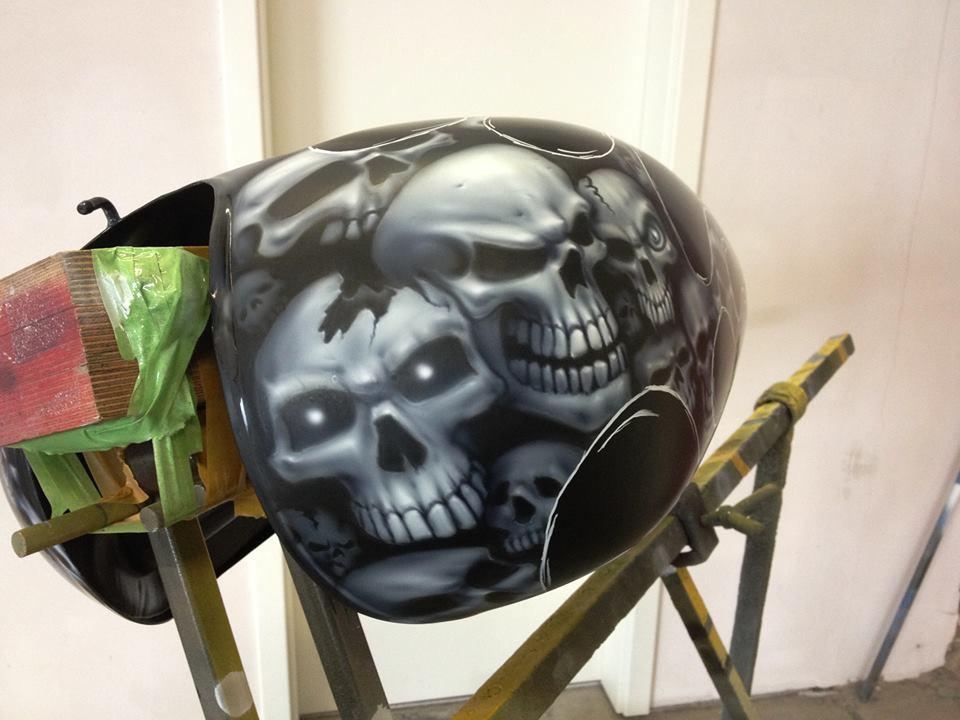 Tank Airbrush, hier ein cooles Beispiel wie es geht!