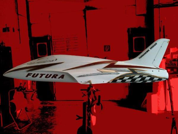 Tomahawk-Futura Modelflugzeug Airbrush und Designlackierung