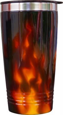 Airbrush Flammen auf Thermobecher lackiert von DS Lackiertechnik aus Paderborn NRW