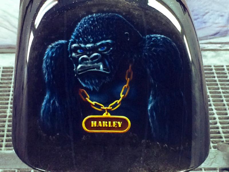 Warum du unbedingt deine Harley lackieren solltest