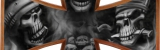 Airbrush Effektlackierung auf Iron Cross lackiert von DS Lackiertechnik aus Paderborn NRW