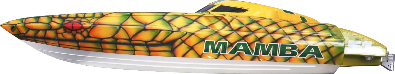 Mamba-speedboot-Modellbau-airbrush