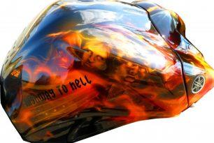 Airbrush und Lackierung für Dein Motorrad 3 airbrush