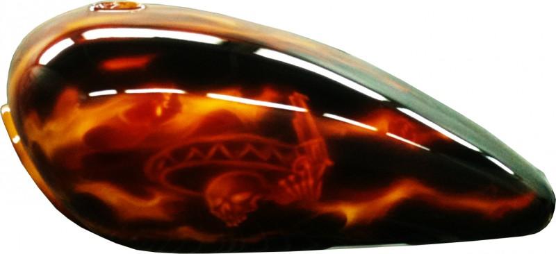Bike Flammenlackierung True firePaderborn
