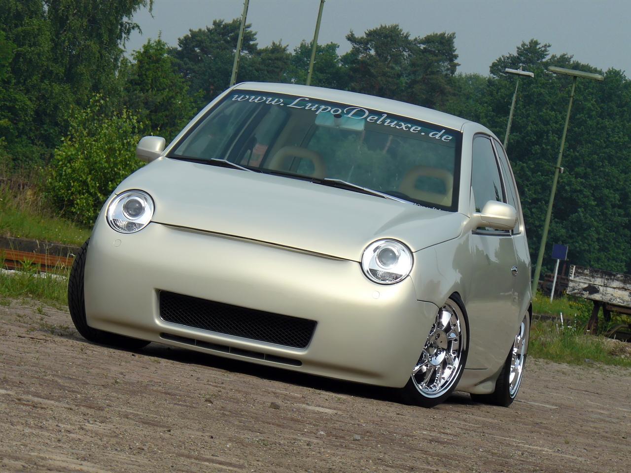 VW Lupo Effektlackierung Sonderlackierung