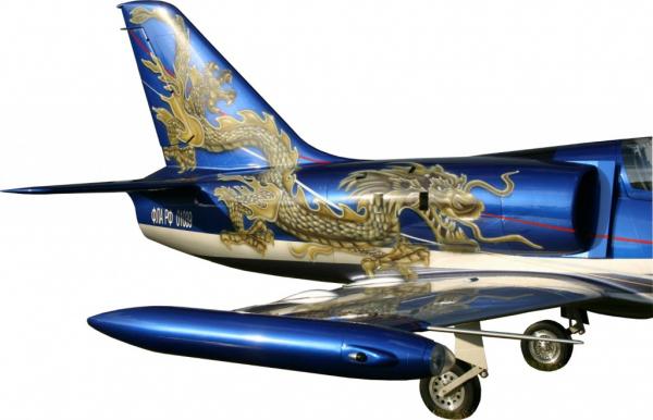 Drachen Airbrush Modellflieger