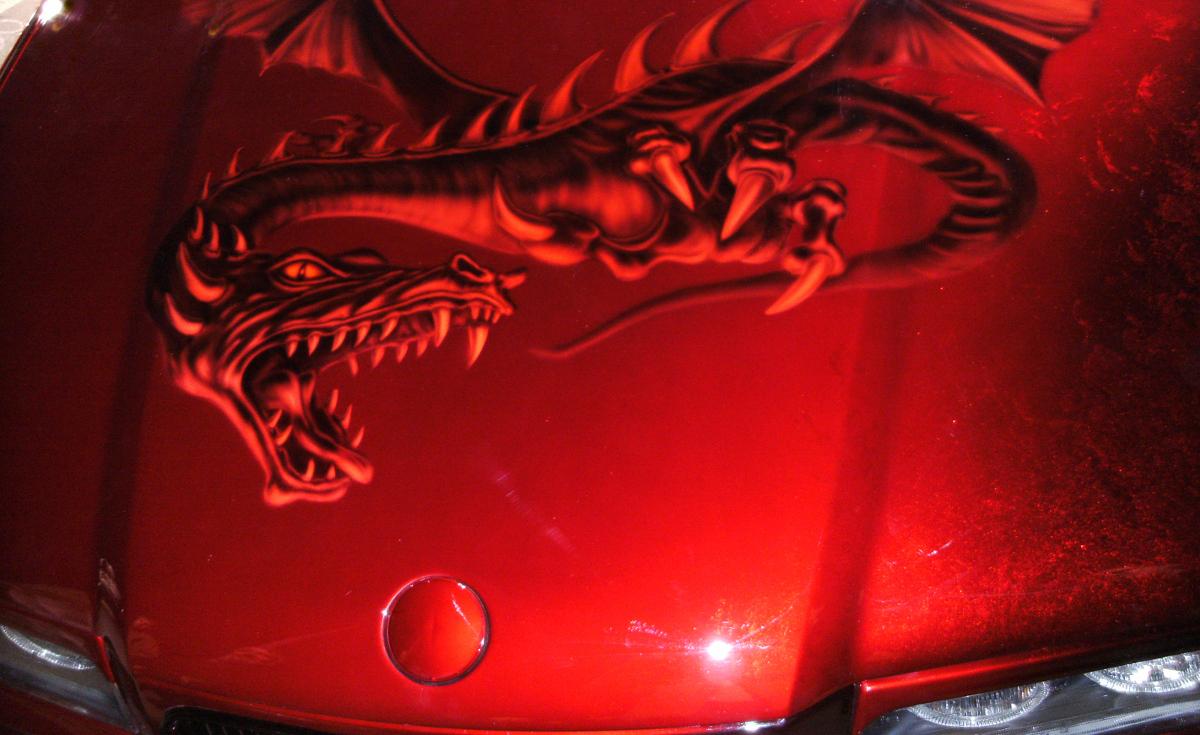Candylackierung für dein Auto oder Motorrad vom Lackiermeister 1