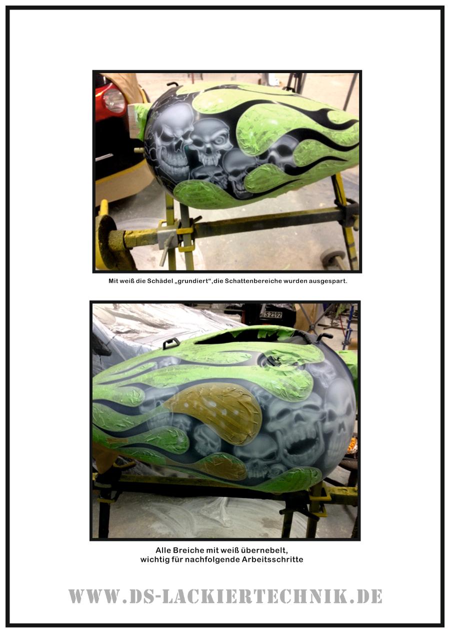Tank Airbrush, hier ein cooles Beispiel wie es geht! 3 Tank Airbrush