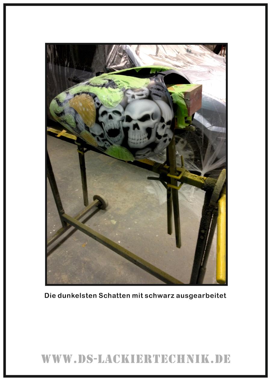 Tank Airbrush, hier ein cooles Beispiel wie es geht! 4 Tank Airbrush