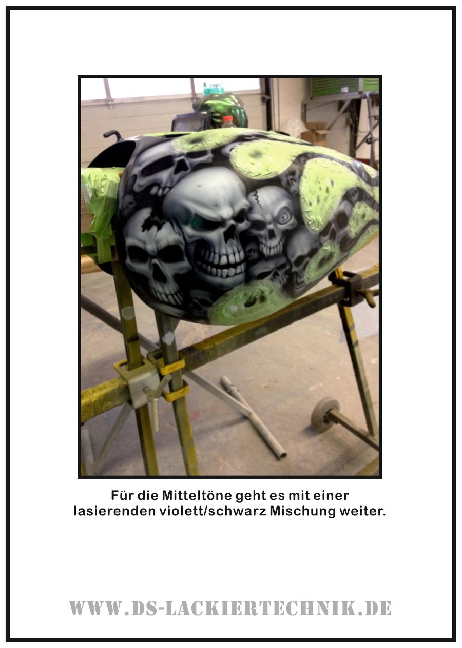 Tank Airbrush, hier ein cooles Beispiel wie es geht! 5 Tank Airbrush