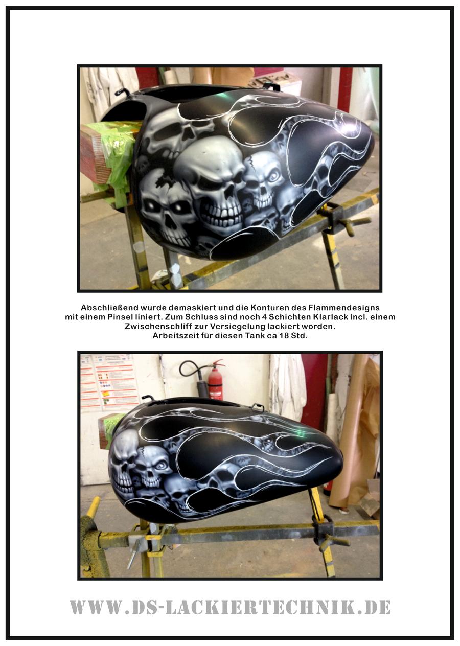 Tank Airbrush, hier ein cooles Beispiel wie es geht! 7 Tank Airbrush