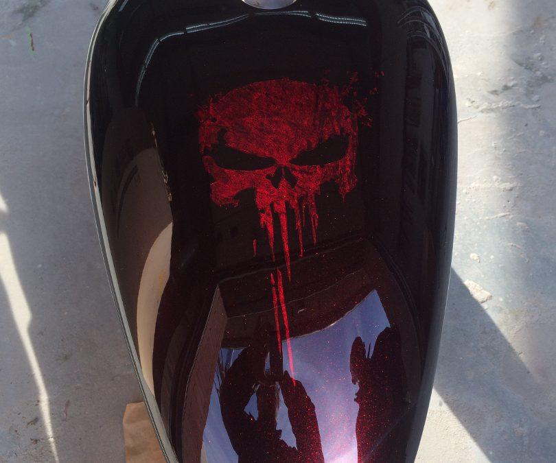 Airbrush und Lackierung für Dein Motorrad aus einer Hand