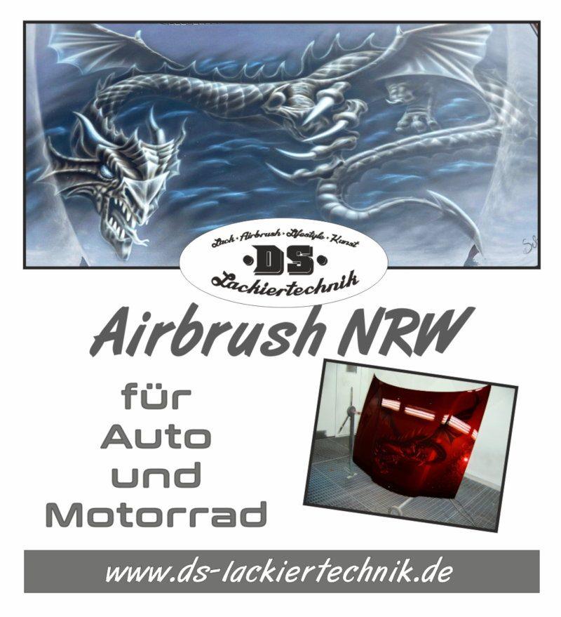 Airbrush NRW -Dein Airbrusher und Lackierer aus der Nähe
