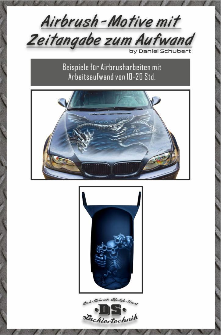 Airbrush Lackierung für Auto / Motorrad und die Kosten dafür. 10 kosten